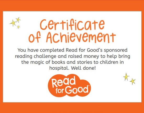Certificate of Achievement award