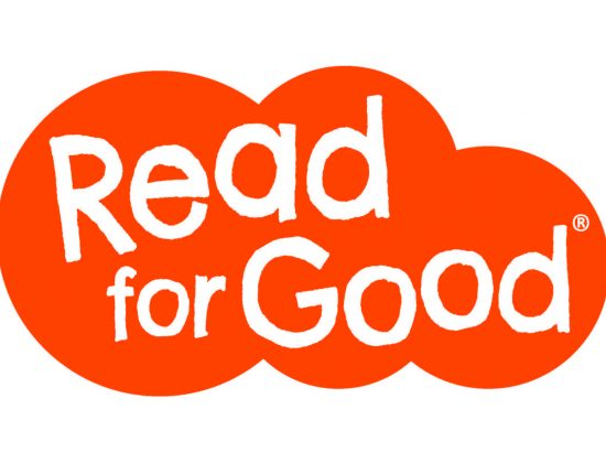 Read for Good logo in an orange cloud.