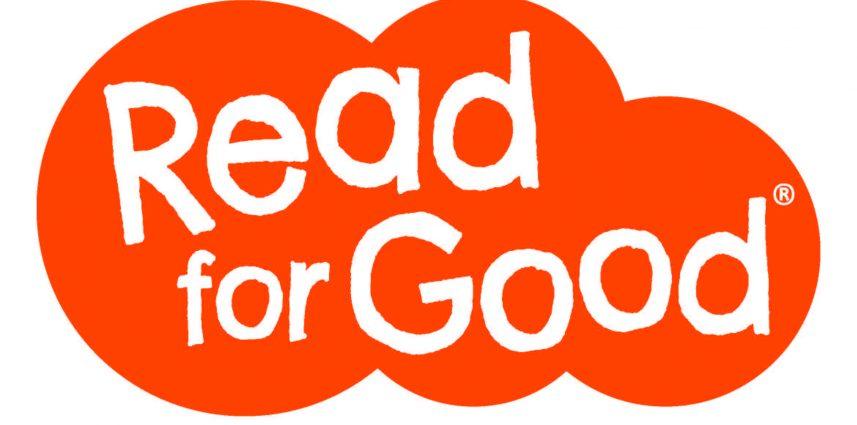 Read for Good logo in an orange cloud.